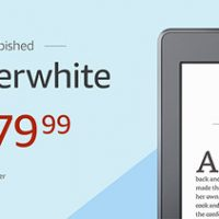 Kindle Paperwhite Refurbished Sale
