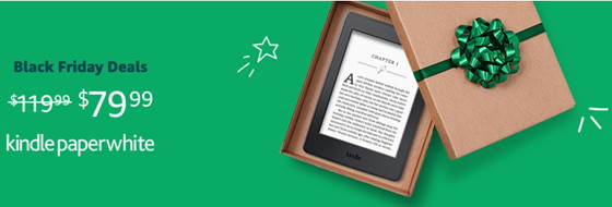 List of Black Friday Deals on Kindles, Tablets, and eBook Readers