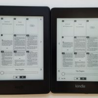Kindle Paperwhite 4 vs Kindle Paperwhite 3