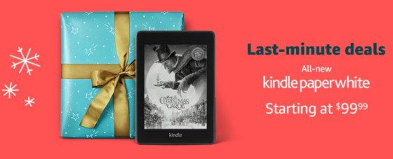 Kindle Paperwhite Christmas Sale