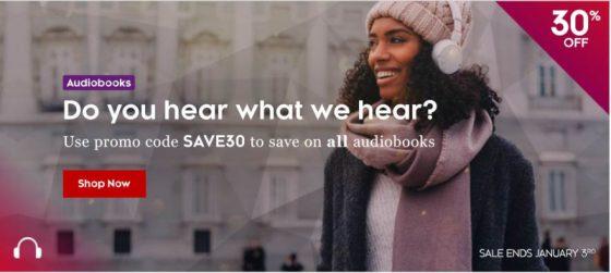 Kobo Audiobook Sale