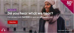 Kobo Audiobooks Sale