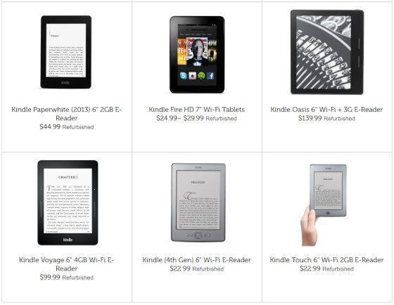 Woot Kindles