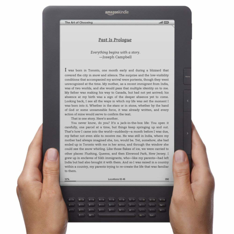 Time for Amazon to Finally Release Another Large Kindle