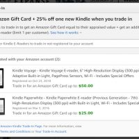 Kindle Trade up Deal