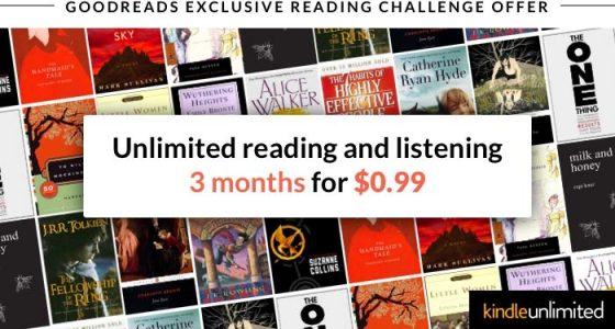 Kindle Unlimited Goodreads Promotion