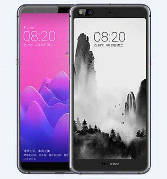 Hisense A6 E Ink Phone