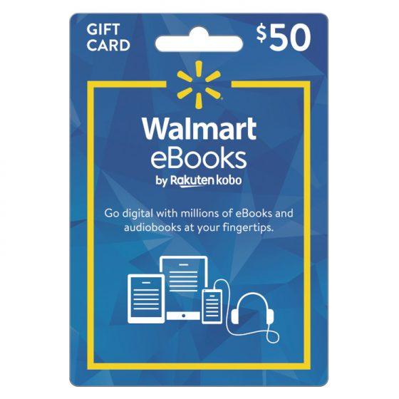 Walmart eBook Gift Card