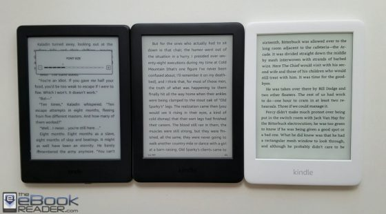 2019 Kindle Comparison