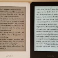 Kindle Light vs No Light