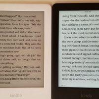 Kindle Light vs No Light