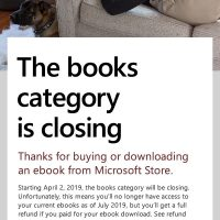 Microsoft eBook Closing