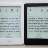 White Kindle vs Black Kindle