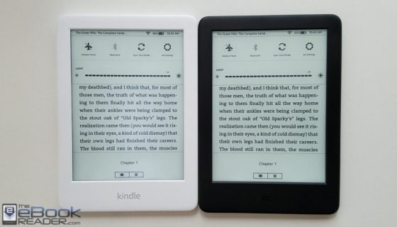 White Kindle vs Black Kindle