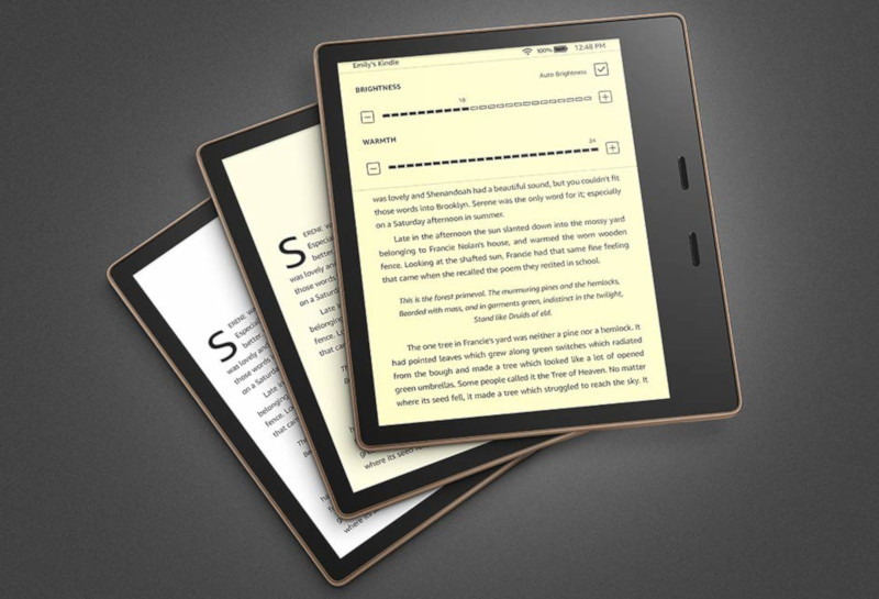 New Kindle Oasis Features an Upgraded E Ink Screen | The