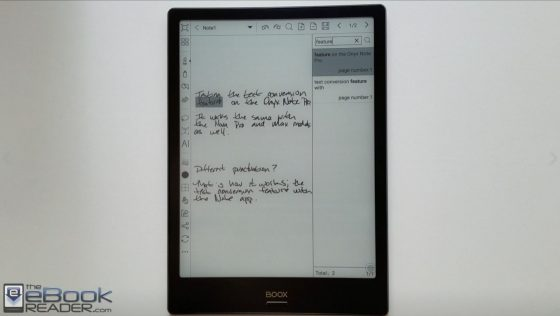 Onyx Note Conversion