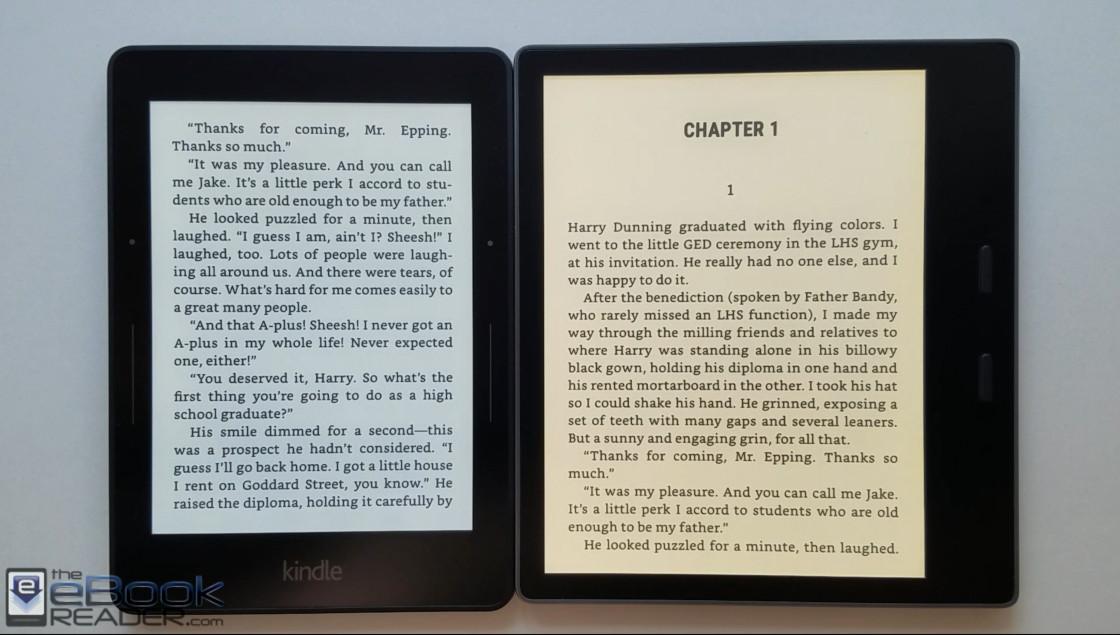Kindle Vs Sony Reader: Kindle Oasis 3 Vs Kindle Voyage Comparison (Video)