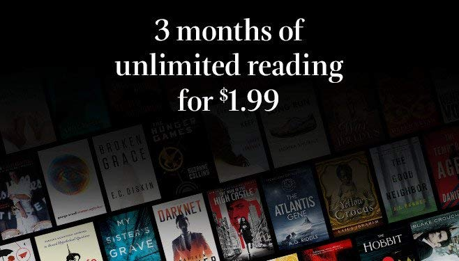 Get 3 Months of Kindle Unlimited for $1 99 | The eBook