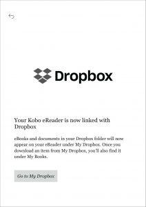 Kobo Dropbox