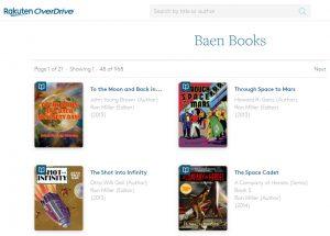 Baens Books OverDrive