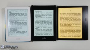 Kindle Lineup Comparison