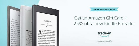 Kindle Trade Deal