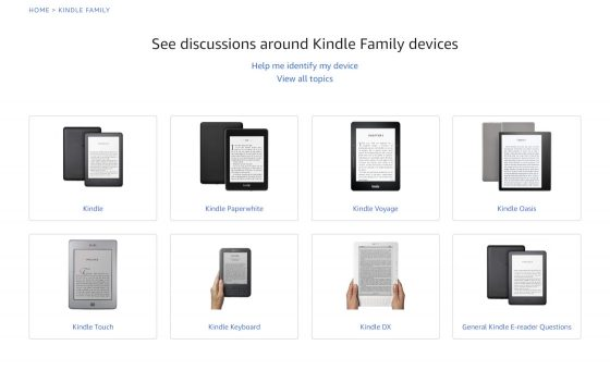 Kindle Help Forum