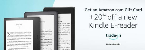Kindle Trade in Deal