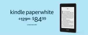 Kindle Paperwhite 4 Sale