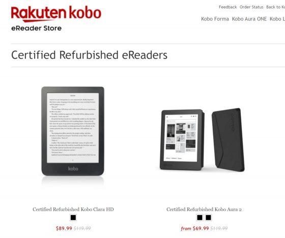Kobo Certified Refurbished