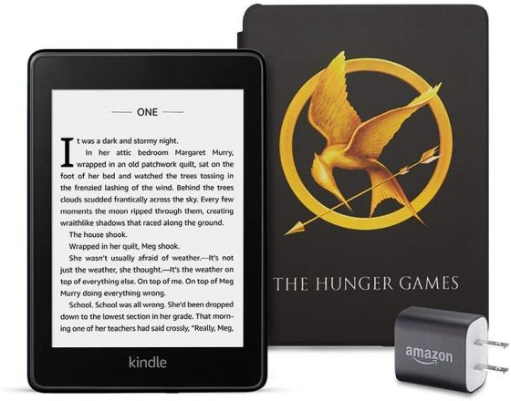 Kindle Paperwhite Hunger Games
