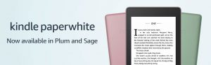 Kindle Paperwhite Colors