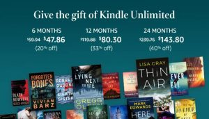 Kindle Unlimited Sale