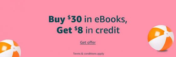 Kindle Book Credit Deal
