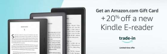 Kindle Trade Offer