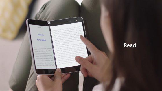 Surface Duo Amazon Kindle