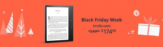 Kindle Oasis Black Friday Sale