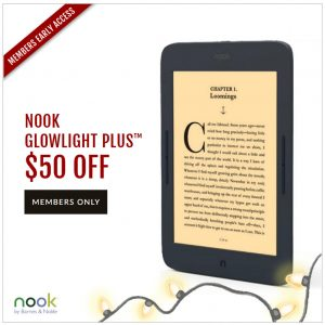 Nook Black Friday Sale