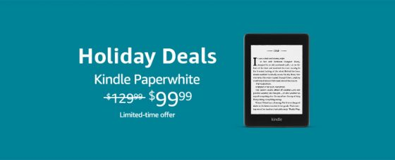 Kindle Paperwhite Holiday Sale