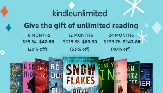 Kindle Unlimited Gift Deal