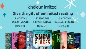 Kindle Unlimited Gift Deals