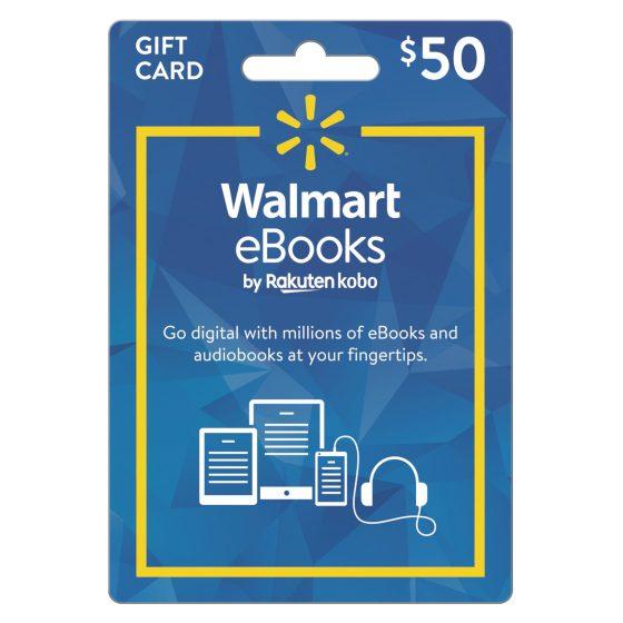 Walmart ebook gift card sale