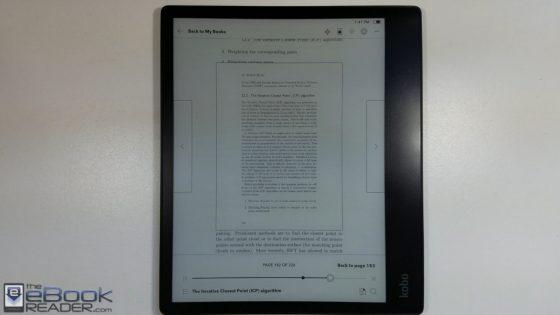 Kobo Elipsa PDF Review