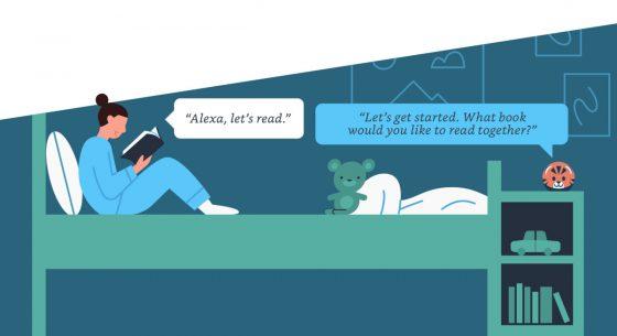 Reading Sidekick with Alexa Kindle