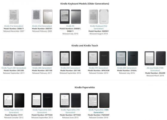 Kindle Trade Values